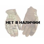 Перчатки VoenPro тактические со скрытой защитой multicam
