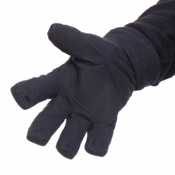 Перчатки Keotica мембрана на флисе черные