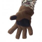 Перчатки Keotica Active мембрана на флисе олива темная