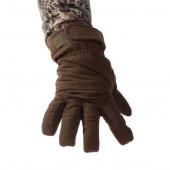 Перчатки Keotica мембрана на флисе олива темная