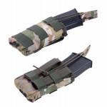 Подсумок KE Tactical под АК штурмовой одинарный multicam со стропами олива