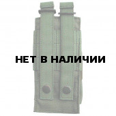 Подсумок Kiwidition M Single на 2 магазина серии M4/M16/AR15 с эластичной лентой олива