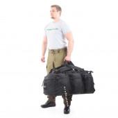 Баул-рюкзак KE Tactical Grand Tour 100л Polyamide 500 Den черный