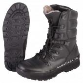 Ботинки Garsing Forester W м. 0620 натуральный мех черные