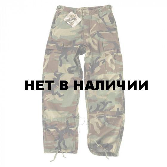 Брюки Helikon-Tex BDU polycotton рип-стоп woodland