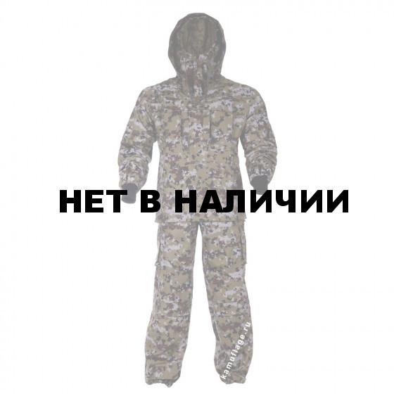 Костюм KE Tactical Антигнус рип-стоп пограничная цифра