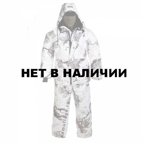 Костюм Huntsman Памир мембрана зимний лес (кусты)