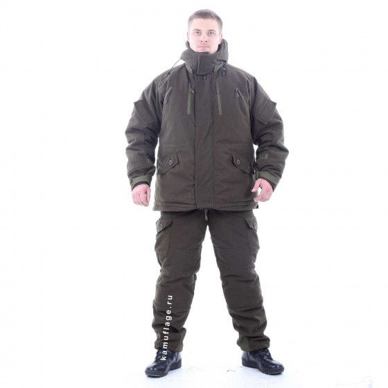 Костюм KE Tactical Горка-Зима Extreme олива темная
