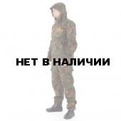 Костюм KE Tactical Снайпер-2 анорак рип-стоп с налокотниками и наколенниками партизан