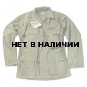 Куртка Helikon-Tex BDU polycotton рип-стоп olive green