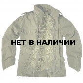 Куртка Helikon-Tex M65 NyCo с подстёжкой olive green