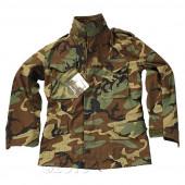 Куртка Helikon-Tex M65 NyCo с подстёжкой woodland