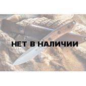 Нож Kizlyar Supreme Corsair AUS-8 Satin с фиксированным клинком