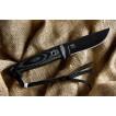 Нож Kizlyar Supreme Nikki D2 Black с фиксированным клинком