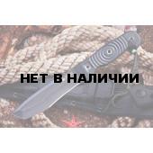 Нож Kizlyar Supreme Vendetta D2 Black Titanium с фиксированным клинком