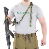 Оружейный ремень KE одно/двух точечный A-Tacs FG со стропами A-Tacs FG