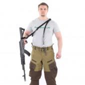 Оружейный ремень KE одно/двух точечный черный