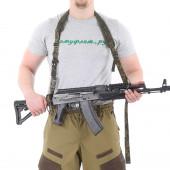 Ремень KE Tactical оружейный одно/двух точечный ЕМР со стропами ЕМР