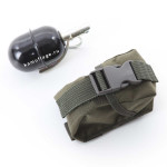 Подсумок KE для гранаты с глухой крышкой олива тёмная