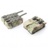 Подсумок KE под АК патрульный двойной с бесшумной застежкой A-Tacs FG