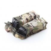Подсумок KE Tactical под АК патрульный двойной с бесшумной застежкой multicam