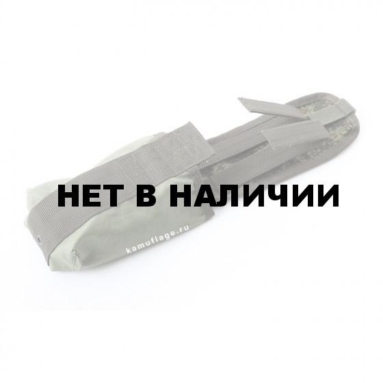 Подсумок KE Tactical под АК с ленточным клапаном одинарный со стропами ЕМР
