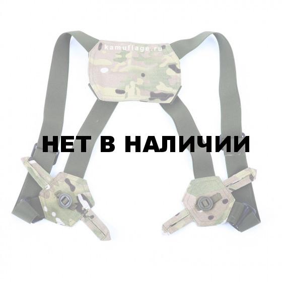 Подтяжки KE Tactical рип-стоп multicam