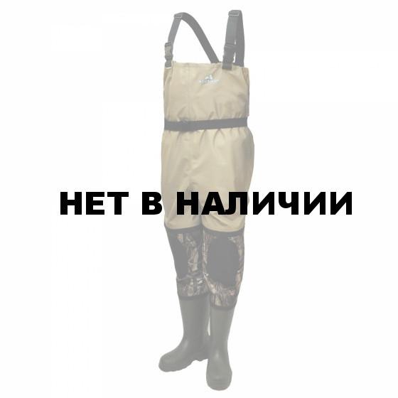Полукомбинезон рыбацкий из ЭВА Nordman Energy мембрана+неопрен ПЕ-22 (ТЭП) ПК РНЕ МБ