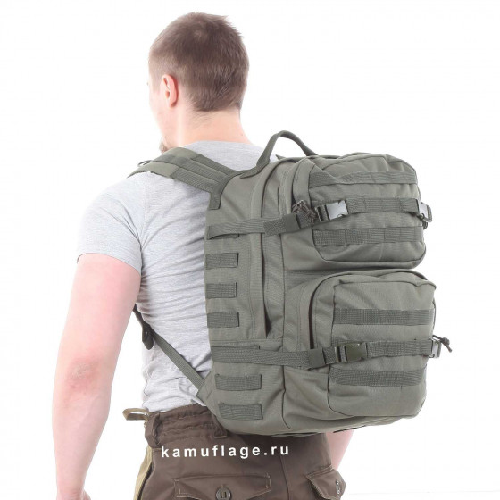Рюкзак KE Tactical Assault 40л Polyamide 900 Den олива