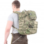 Рюкзак KE Tactical Assault 40л Polyamide 500 Den A-Tacs FG со стропами A-Tacs FG