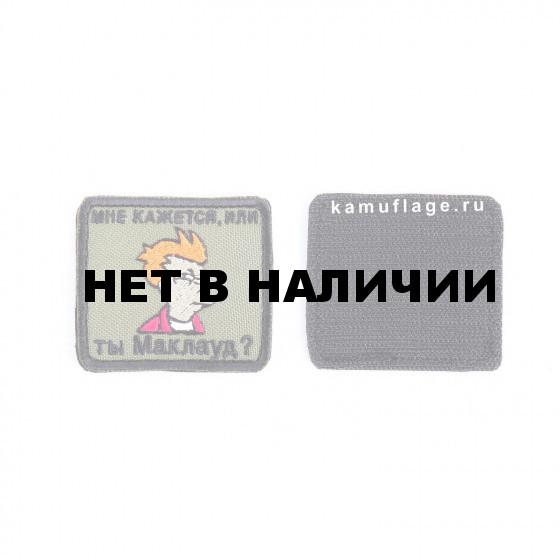 Шеврон KE Tactical Фрай - Маклауд прямоугольник 6х5,5 см олива