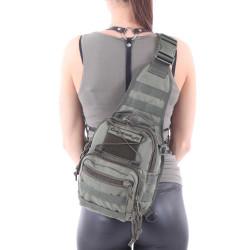 Сумка KE Tactical на плечо 1-Day Mission 5 литров Polyamide 1000 Den олива