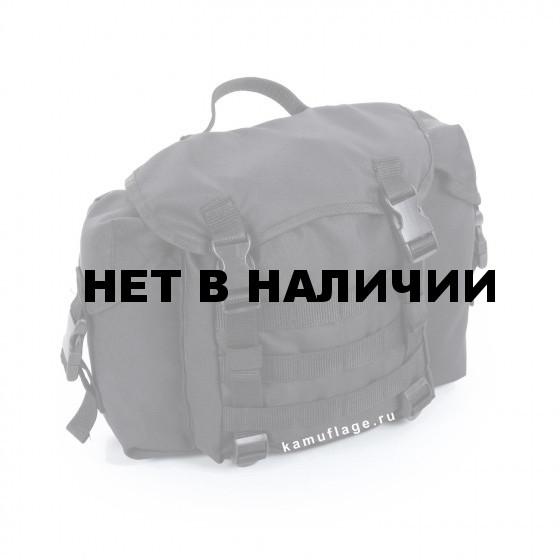 Сумка KE Tactical сухарная 10 литров с боковыми карманами черная