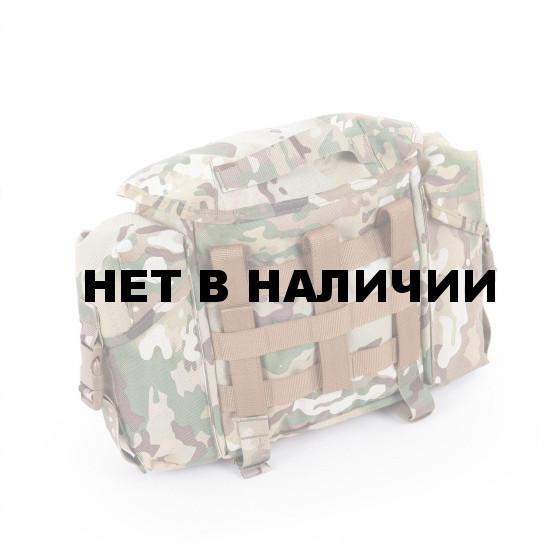 Сумка KE Tactical сухарная 10 литров с боковыми карманами multicam