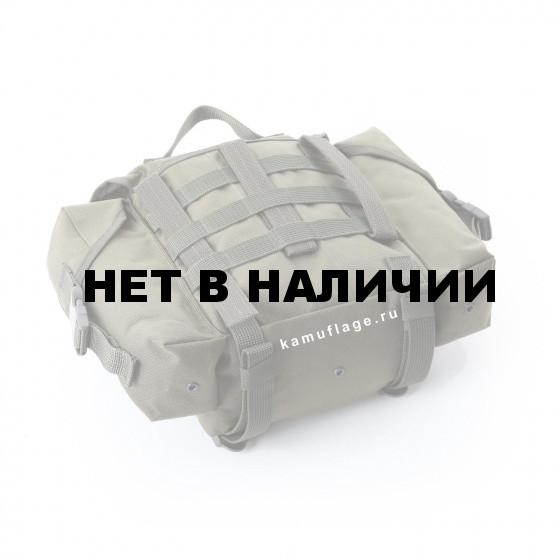 Сумка KE Tactical сухарная 10 литров с боковыми карманами олива тёмная