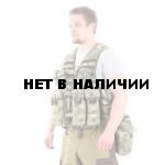 Жилет KE Скорпион с патрульными подсумками A-Tacs FG (стропы в цвет)