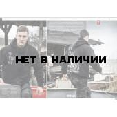 Толстовка Dobermans Aggressive с капюшоном Viking Drakkar BZ113 черная
