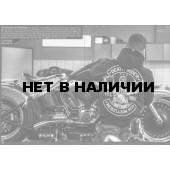Толстовка Dobermans Aggressive с капюшоном Rebellion II BZ86 черная