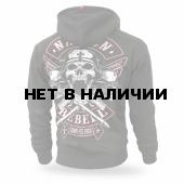 Толстовка Dobermans Aggressive с капюшоном National Rebell BZ184 олива