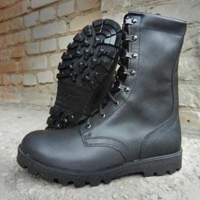 Ботинки с высокими берцами Гарсинг 05106 Stranger, цвет - черный