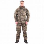 Костюм KE Tactical Горка рип-стоп на флисе тигр