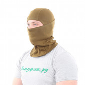 Балаклава-маска Keotica Фантом 100% хлопок хаки