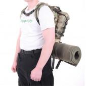 Ранец KE Tactical патрульный УМБТС 6ш112 25 литров Polyamide 500 Den A-Tacs FG со стропами олива