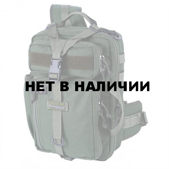 Рюкзак однолямочный Kiwidition Tawaho City 10л Nylon 1000 den олива
