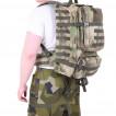 Рюкзак KE Tactical патрульный Incursion-2 на 40 литров Polyamide 500 Den A-Tacs FG со стропами A-Tacs FG