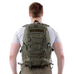Рюкзак KE Tactical 1-Day Mission 25л Cordura 1000 Den олива темная