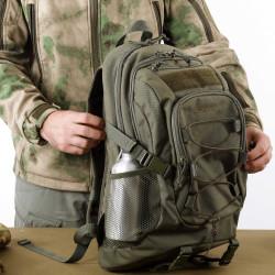 Рюкзак KE Tactical 1-Day Mission 25л Polyamide 500 Den A-Tacs FG со стропами A-Tacs FG