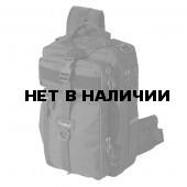 Рюкзак однолямочный Kiwidition Tawaho City 10л Nylon 1000 den черный