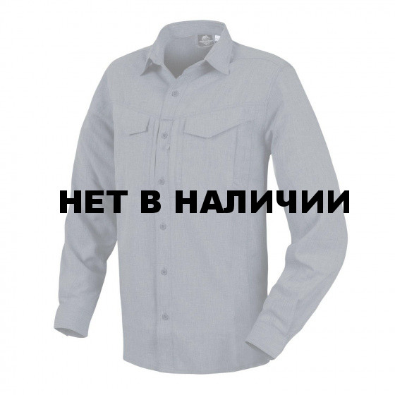 Рубашка Helikon-Tex Defender MK2 Gentleman Shirt с длинным рукавом, Melange Black