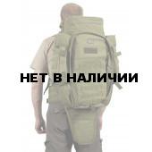 Рюкзак VoenPro тактический с чехлом для ружья 75 литров хаки/олива